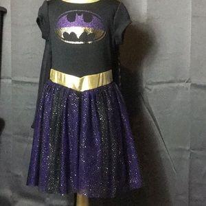 Girls Batman dress Sz 6/6x